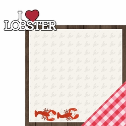 Lobsterbake: Heart 2 Piece Laser Die Cut Kit