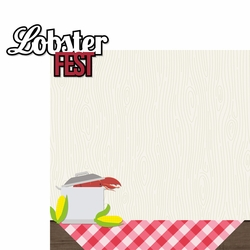 Lobsterbake: Lobsterfest 2 Piece Laser Die Cut Kit