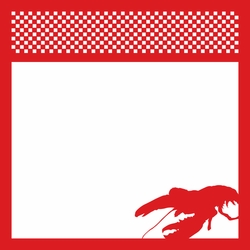 2SYT Lobsterfest 12 x 12 Overlay Laser Die Cut