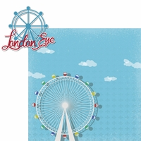 London: London Eye 2 Piece Laser Die Cut Kit