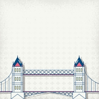 London: Tower Bridge 12 x 12 Paper