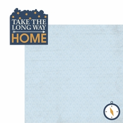 Long way Home 2 Piece Laser Die Cut Kit