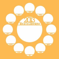 Looking Back: 2013 Year In Review 12 x 12 Overlay Laser Die Cut
