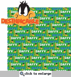 Looney Bin: Daffy 2 Piece Laser Die Cut Kit