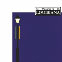 Louisiana: Welcome To 2 Piece Laser Die Cut Kit