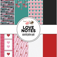 Love Notes Assorted 12 x 12 Paper Pack