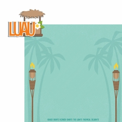 Luau: Luau 2 Piece Laser Die Cut Kit