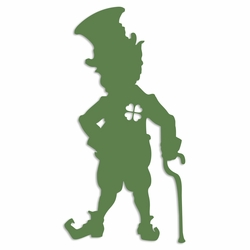Luck of the Irish: Leprechaun Laser Die Cut