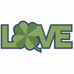 Luck of the Irish: Love Laser Die Cut