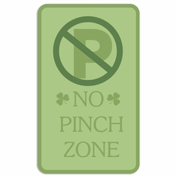 Luck of the Irish: No Pinching Laser Die Cut
