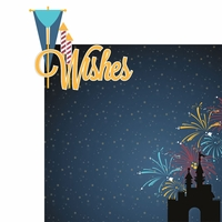 Magic At Night: Wishes 2 Piece Laser Die Cut Kit
