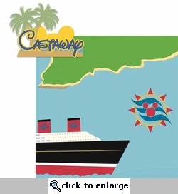 Magic Cruise: Castaway 2 Piece Laser Die Cut Kit