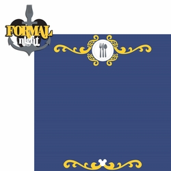 Magic Cruise: Formal Night 2 Piece Laser Die Cut Kit