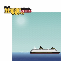 Magic Cruise: Magic 2 Piece Laser Die Cut Kit