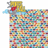 Magic Cruise: Ports Of Call 2 Piece Laser Die Cut Kit