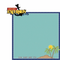 Magic Cruise: Shore Excursion 2 Piece Laser Die Cut Kit