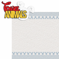 Magic Cruise: Towel Animals 2 Piece Laser Die Cut Kit