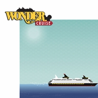 Magic Cruise: Wonder 2 Piece Laser Die Cut Kit