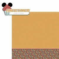 Magic Kingdom: Confectionery 2 Piece Laser Die Cut Kit