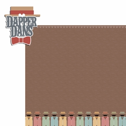 Magic Kingdom: Dapper Dans 2 Piece Laser Die Cut Kit