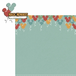 Magic Kingdom: Magic Memories 2 Piece Laser Die Cut Kit
