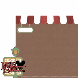 Magic Kingdom: Main Street 2 Piece Laser Die Cut Kit