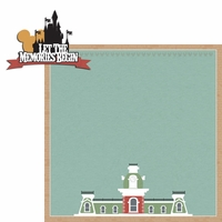 Magic Kingdom: Memories Begin 2 Piece Laser Die Cut Kit