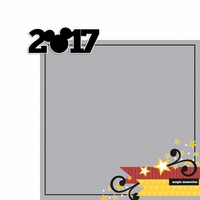Magic Moments: 2017 Mickey 2 Piece Laser Die Cut Kit