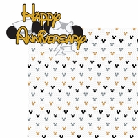 Magic Moments: Happy Anniversary 2 Piece Laser Die Cut Kit