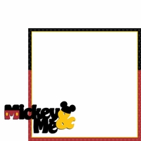 Magic Moments: Mickey and Me 2 Piece Laser Die Cut Kit