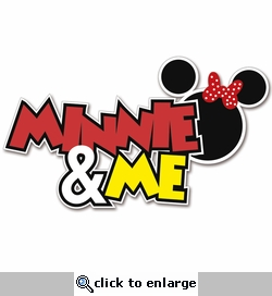 Magic Moments: Minnie and Me Laser Die Cut