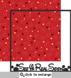 Magic Moments: See Ya Real Soon 2 Piece 12 x 12 Overlay Quick Page Laser Die Cut Kit