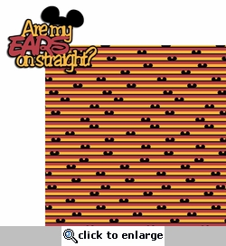 Magic Sayings: Are my Ears Straight? 2 Piece Laser Die Cut Kit
