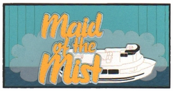 Maid of the Mist Laser Die Cut