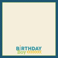 Make A Wish: Party Boy 12 x 12 Paper