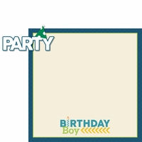 Make A Wish: Party Boy 2 Piece Laser Die Cut Kit