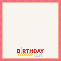 Make A Wish: Party Girl 12 x 12 Paper
