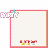 Make A Wish: Party Girl 2 Piece Laser Die Cut Kit