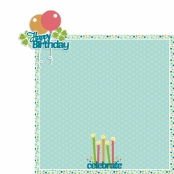 March: Birthday 2 Piece Laser Die Cut Kit