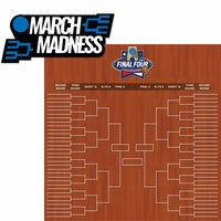 March Madness: Championship Bracket 2 Piece Laser Die Cut Kit