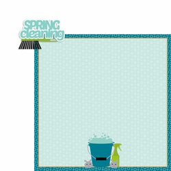 2SYT March: Spring Clean 2 Piece Laser Die Cut Kit