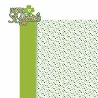 March: St. Patty 2 Piece Laser Die Cut Kit