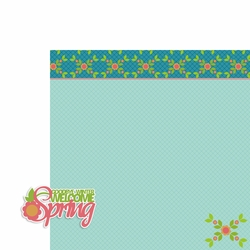 March: Welcome Spring 2 Piece Laser Die Cut Kit