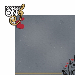 Marching Band: March on 2 Piece Laser Die Cut Kit