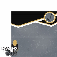Marching Band: March to the beat 2 Piece Laser Die Cut Kit