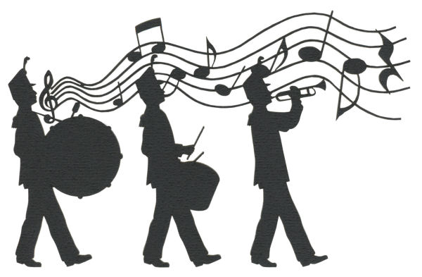 Marching Silhouette