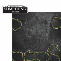 Mardi Gras: Beads 2 Piece Laser Die Cut Kit