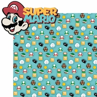 Mario: Super Mario 2 Piece Laser Die Cut Kit