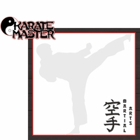 Martial Arts: Karate Master 2 Piece Laser Die Cut Kit