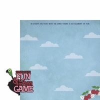 Mary Poppins: Find the fun 2 Piece Laser Die Cut Kit